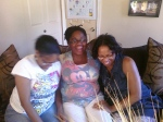Me and my sisters! They are so silly! :)